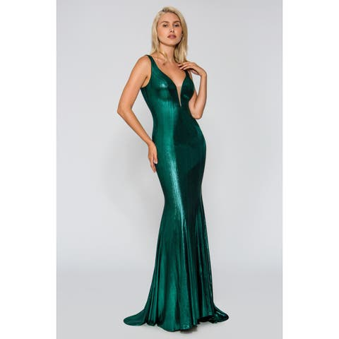 Stella Couture Formal Prom Long Dress