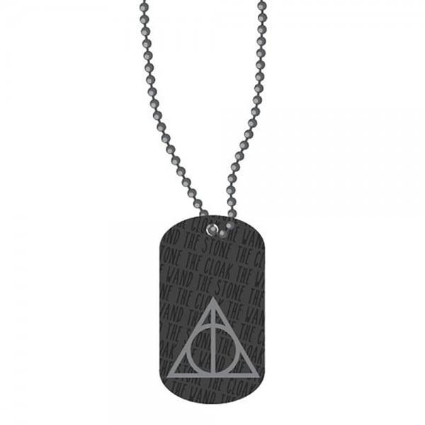 Harry Potter Dog Tags - Black