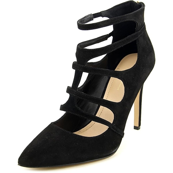 BCBGeneration Percah Women Pointed Toe Suede Black Heels
