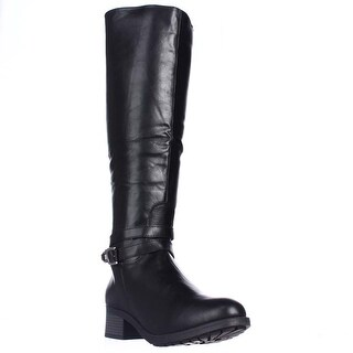Rampage Imelda Knee-High Riding Boots - Black