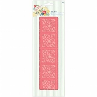 Docrafts PM169213 Papermania Folk Floral Deco Sheets - Coral Floral