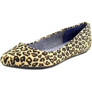 Dr. Scholl's Really Round Toe Suede Flats