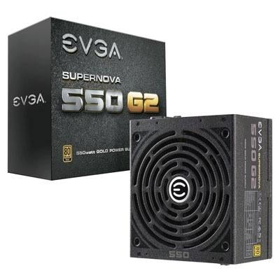 Evga 220-G2-0550-Y1 Supernova 550 G2 550W 80 Plus Gold Modular Power Supply