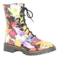 Martino Women's Merida Waterproof Boot Orange Leather
