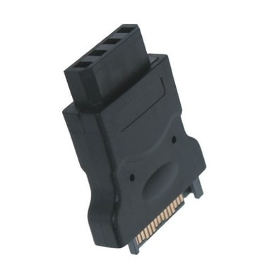 SATA 15-Pin Power to 4-Pin Molex Adapter