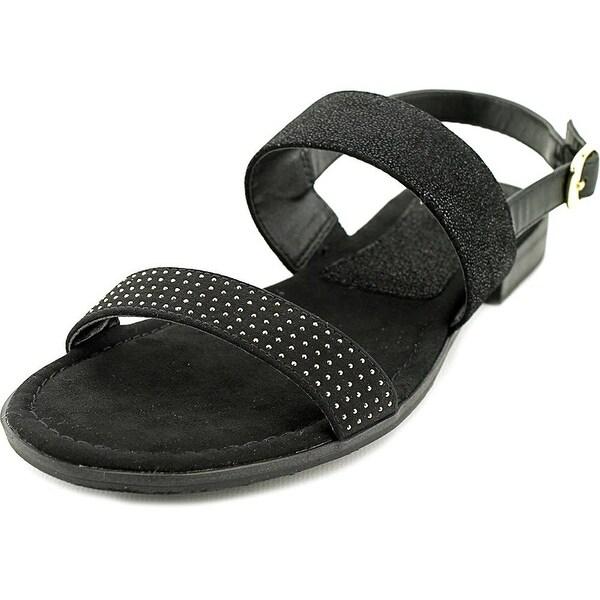 Alfani Womens TORRIX Suede Casual Slide Sandals
