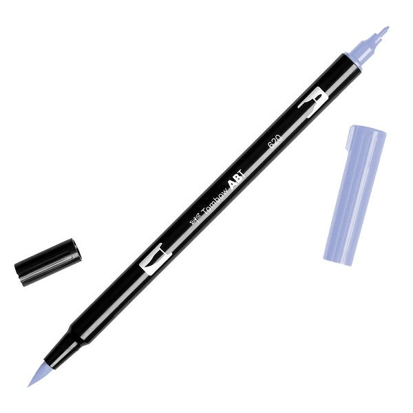 Tombow Dual Brush Marker Open Stock-620 Lilac - Purple