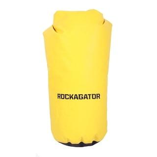 Rockagator Roll-Top Waterproof Dry Bag-Yellow/Black