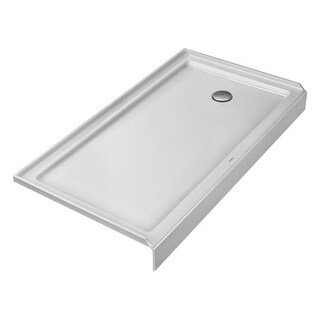 """Duravit 720144 Architec 60"""" x 32"""" Rectangle Shower Tray with Single Threshold an"""