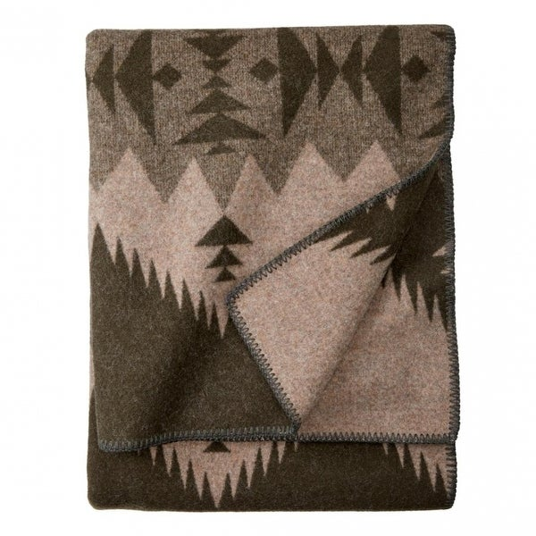 Pendleton Sonora Fringed Jacquard Throw. Opens flyout.