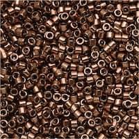 Miyuki Delica Seed Beads 11/0 - Galvanized Rose Gold Dyed DB460 7.2 Grams
