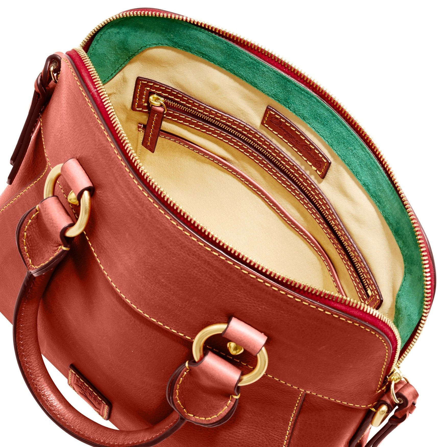 c1e932725 Shop Dooney & Bourke Florentine Cameron Satchel (Introduced by Dooney &  Bourke at $298 in Aug 2017) - Free Shipping Today - Overstock - 22813858