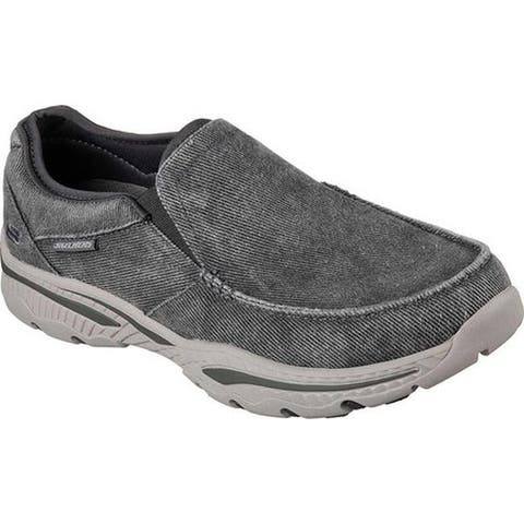 Skechers Men's Relaxed Fit Creston Moseco Loafer Charcoal