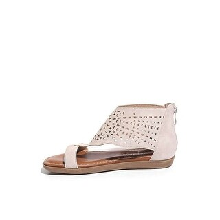 2 Lips Too Womens Too Cara Open Toe Casual T-Strap Sandals - 7