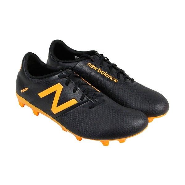 New Balance Furon 2.0 FG Mens Black Athletic Soccer Cleats Shoes