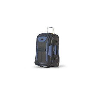 """Travelpro TPB2 Black/Navy 25"""" Polyester Fabric Expandable Rollaboard w/ Water Repellent Coating"""