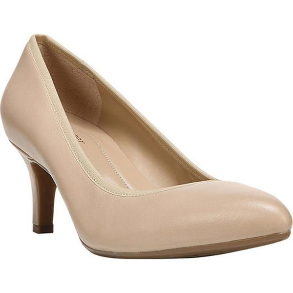 Oden Pump Taupe Leather