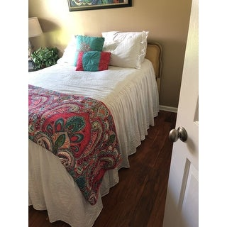Lush Decor Ruffled Bedspread Set