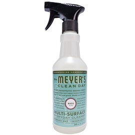 Mrs. Meyer's Clean Day 14441 Multi Surface Cleaner Spray, Basil Scent, 16 Oz