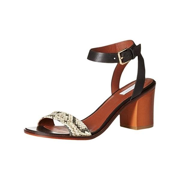 Cole Haan Womens Cambon Dress Sandals Leather Black 9 Medium (B,M) - 9 medium (b,m)