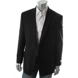 MICHAEL Michael Kors Mens Wool Blend Notch Collar Sportcoat