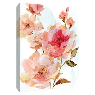 "PTM Images 9-148653  PTM Canvas Collection 10"" x 8"" - ""Vivid Roses"" Giclee Flowers Art Print on Canvas"