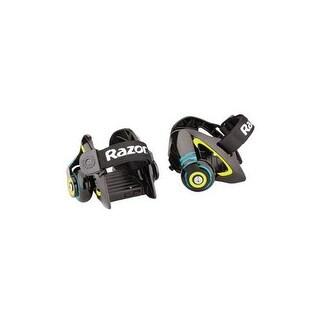 Razor 25056130 jetts heel wheels green