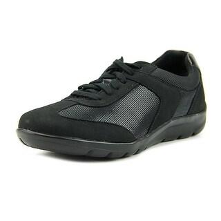 Rockport Moreza Chev T-Toe   Round Toe Leather  Sneakers