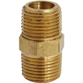 Milton 3/8 Npt Male Hex Nipple