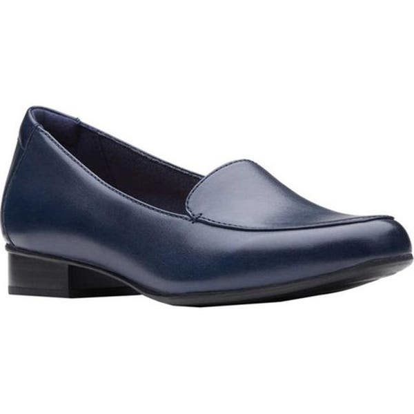 how to find novel design great deals Shop Clarks Women's Juliet Lora Loafer Navy Leather - On ...