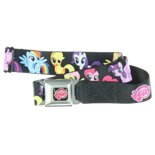 My Little Pony 6 Ponies Group Seatbelt Belt - Hold Pants Up
