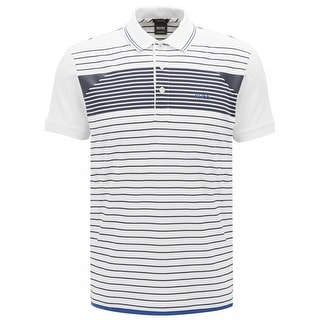 7a4fd0c6 Shop Hugo Boss White Paddy 5 Polo T-shirt - Free Shipping Today - Overstock  - 20539201