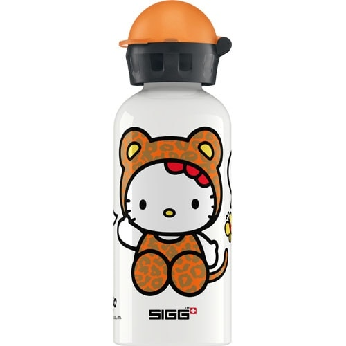 Sigg Water Bottle - Hello Kitty Leopard - .4 Liters Water Bottles