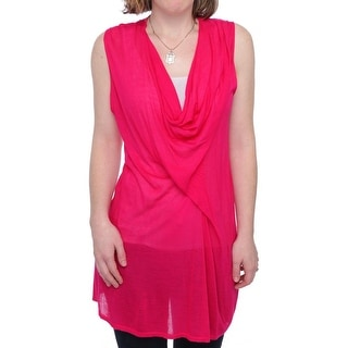 Cullen Sleeveless Cowl Neck Tunic Women Regular Tunic Top