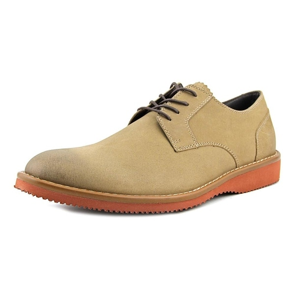 Dockers Traymore Men Round Toe Leather Gray Oxford