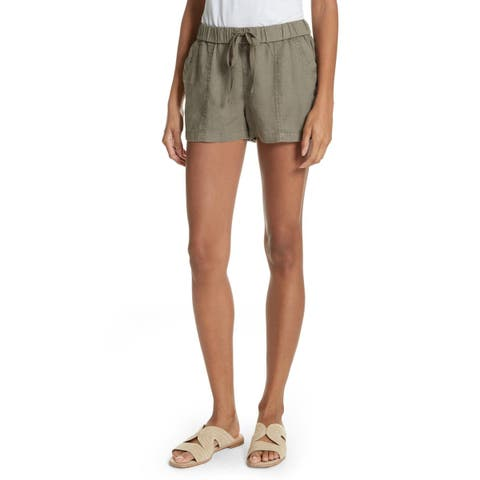 Joie Womens Large Drawstring-Waist Casual Shorts