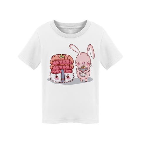 Rabbit And Japanese Food Tee Toddler's -Image by Shutterstock Toddler's T-shirt