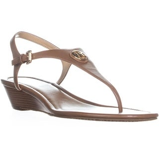MICHAEL Michael Kors Ramona Wedge Sandals, Luggage - 10 us / 40 eu