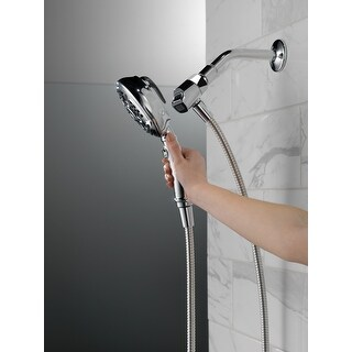Link to Delta Universal Showering Components SureDock? 7-Setting Hand Shower (54710-PK) Similar Items in Showers