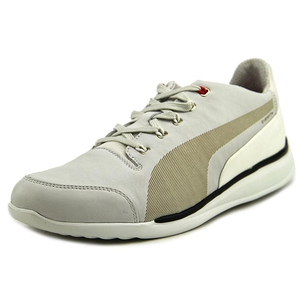 Puma Ferrari Premium Titolo Everfit+ Men Round Toe Leather Sneakers