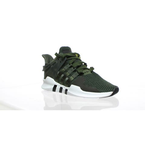 Adidas Mens Eqt Support Green Fashion Sneaker Size 4