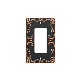 Franklin Brass W35072-C Classic Lace Single Rocker / GFI Outlet Wall Plate (3 options available)