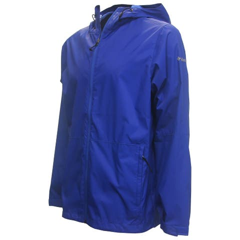 Columbia Golf Men's Roan Mountain Full Zip Lightweight Waterproof Jacket