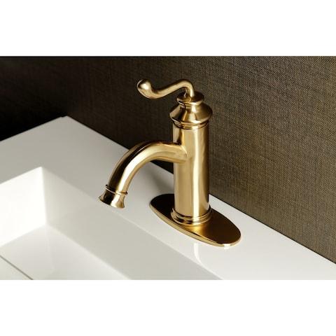 Royale Single-Handle 1-Hole Deck Mount Bathroom Faucet