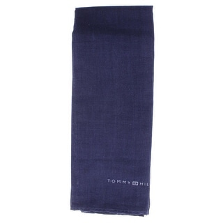 Tommy Hilfiger Mens Cotton Solid Pocket Square - o/s