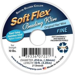 "Soft Flex Wire 21-Strand .014""X10'-Silver"