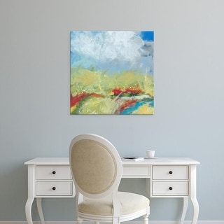 Easy Art Prints Jan Weiss's 'Terra Verde' Premium Canvas Art