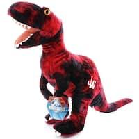 "Jurassic World 17"" Plush Red Raptor - multi"