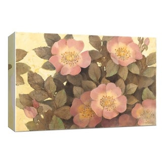 """PTM Images 9-153951  PTM Canvas Collection 8"""" x 10"""" - """"Wall of Flowers"""" Giclee Flowers Art Print on Canvas"""