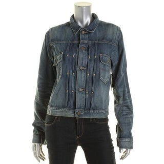 Polo Ralph Lauren Womens Denim Adjustable Denim Jacket